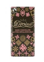 Divine Fairtrade Dark Chocolate With Himalayan Salt 90g